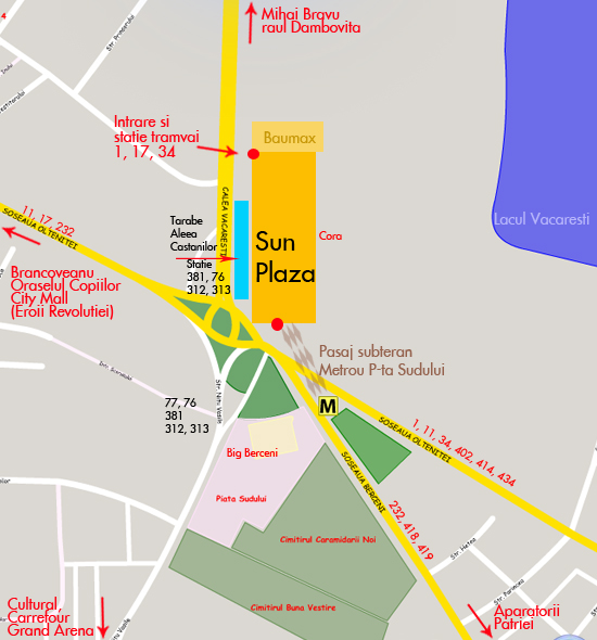 harta Sun Plaza